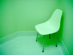 green restroom environment (Opal in the rough) Tags: vintage chair retro tiles restroom great5 stark great1 great4 great2 great3 top20chair