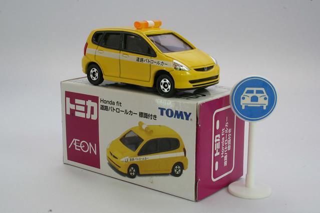 honda fit tomica t001152 20060114