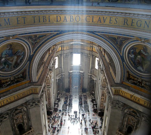 Inside Saint Peter,Vatican