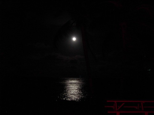 Moon over the keys