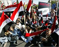aa05110302 (course030166) Tags: aljazeera rally flags