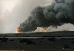 Oil Fires in Kuwait (DigitalTribes) Tags: war peace iraq oil 1991 kuwait dt desertstorm digitaltribes operationdesertstorm markoneil oilfires