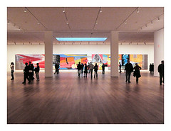 MoMA:  James Rosenquist (t_a_i_s) Tags: nyc james moma rosenquist museumwatchers