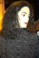 Jackson (Dodo) Tags: voyage amsterdam europe madametussaud fillette michealjackson blackorwhite poupedecire