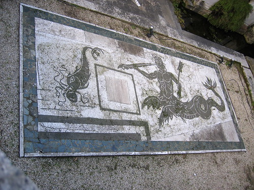 mosaic at Villa Giulia