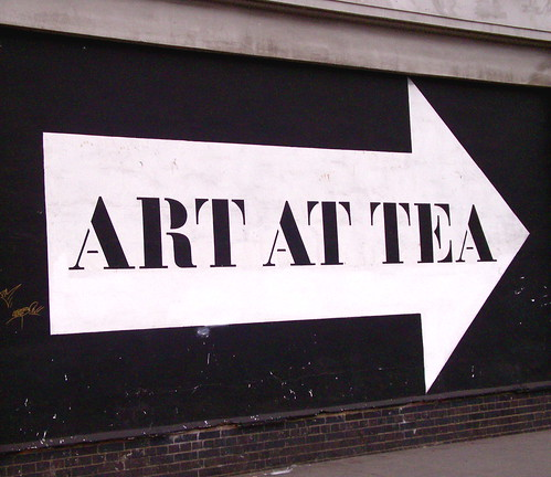 Art And Tea. Excellent Combination.