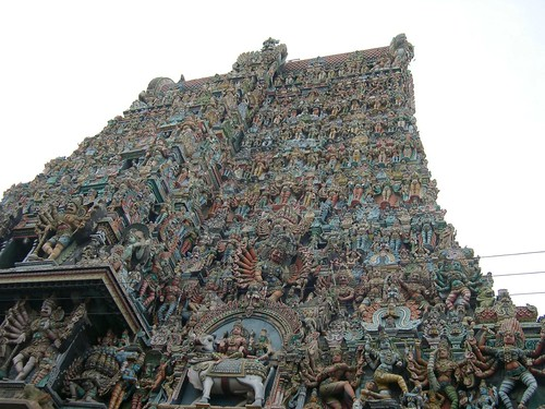 Meenakshiamman Temple, South Gopuram,Madurai