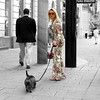 the beauty and the beast (elfis gallery) Tags: vienna wien street city people woman dog man home nature animal fauna publicspace austria österreich perfect blind outdoor 10 streetphotography experiment athome date domino mycity animalic favorits inpublic 10favs bilderfantasien decicivemoment peopleoutdoor streetsmilecontest2