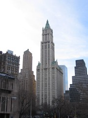 NYC Feb. 2006 - Woolworth building by OliverN5, on Flickr
