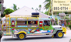 Moving with Zest (Zulpha) Tags: bus taxi philippines vehicle jeepney caticlan canoneosd30