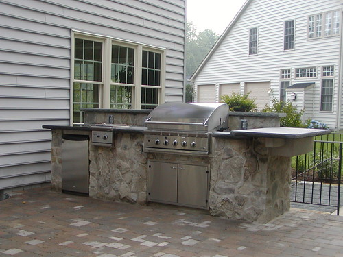 Diy Outdoor Kitchen Cinder Block Images