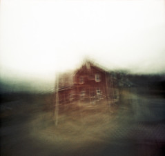 (nicolai_g) Tags: house color building film barn blurry 40mm grainy spacetime
