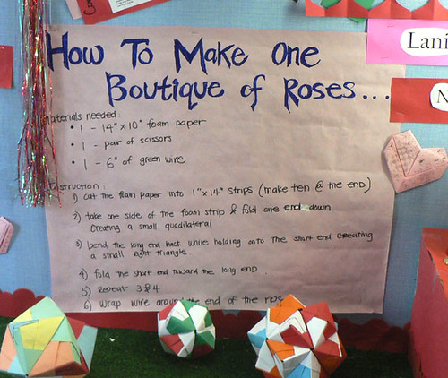 How To Make One Boutique of Roses