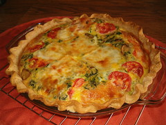 Vegetable Quiche - by unprose