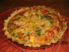 Vegetable Quiche - by unprose