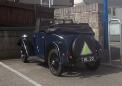 1937 Austin 7 (occama) Tags: old uk car vintage austin cornwall open small 7 seven british veteran 1937 fml22