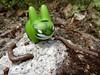 Vert de rage ! (AGUILA81) Tags: green toy vert collection collectible hulk figurine marvel kozik jouet arttoy labbit designertoy
