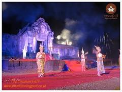 Lodge Buriram Lodge Buriram Nangrong Phanomrung,  ย้อนรอยอารยธรรมขอม บรรยากาศจริงการแสดง แสง สี เสียง ปราสาทหินเมืองต่ำ
