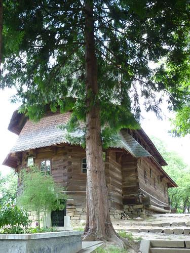 Budesti - church, Biserica de lemn Sfântul Nicolae. (3)