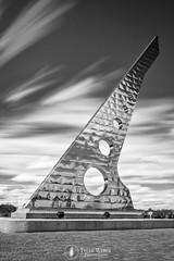Sun Dial (Tyler Weber Photography) Tags: blackandwhite sun motion blur clouds dial stop ten