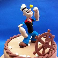 Fondant 3D Popeye The Sailor Man Cakes for Kids (patchias) Tags: cakeshop cakehouse klangvalley partycake noveltycake customcake kidscake 3dcakes designedcake childrencakes bestcakes fondantbirthdaycake 3dbirthdaycake figurinecake kslcitymall kepongbakery sripetalingcakestore malaysiabaker