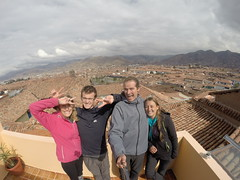 Photo de 14h - Sur la terasse de l'auberge (Cusco, Pérou) - 04.07.2014
