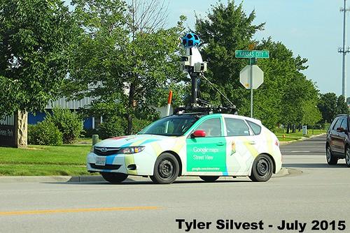 Google Street View Car, From FlickrPhotos