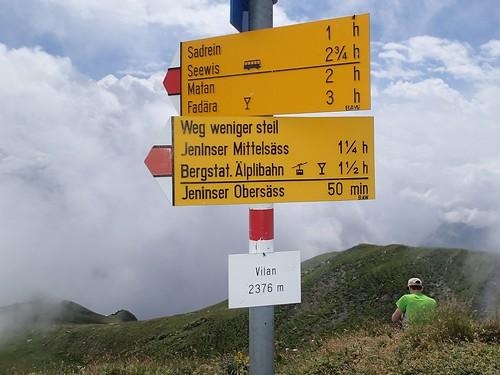Malans GR - Vilan 2376 m