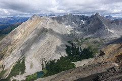 James Walker Creek valley (*Andrea B) Tags: summer kananaskis rockies kent hiking north july peak hike spray ridge alberta summit rockymountains scramble scrambling kananaskiscountry kentridge 2015 summer2015 july2015