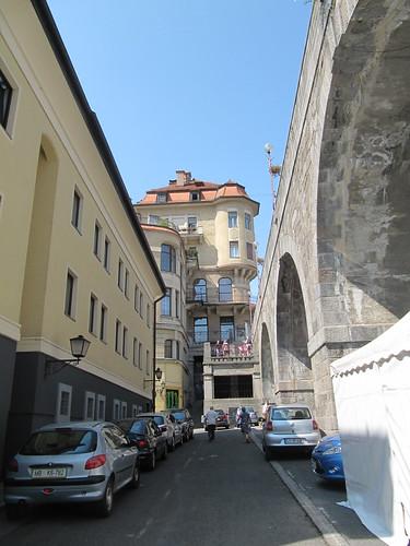 Blick in die Dravska ulica