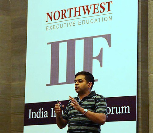 Tathagat Verma during Innovation Games workshop