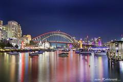 Vivids - Lavender Bay 2015 (Anjan M) Tags: longexposure sydney vivid australia sydneyharbour sydneybynight nightscapes aroundtheworld lavenderbay australianlandscapes amazingcities nikond810 vividsydney anjanmandal anjanmphotography anjanmandal500px