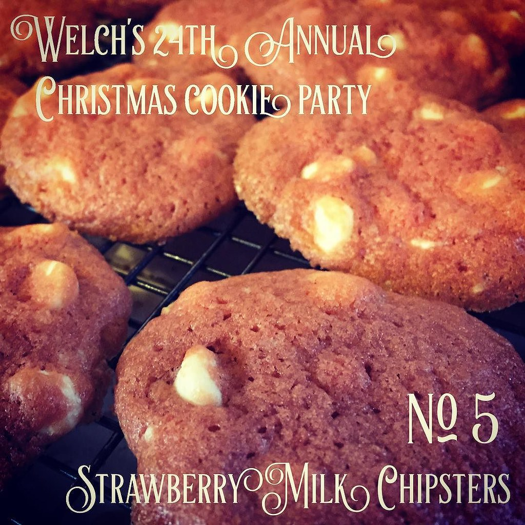 No. 5 Strawberry Milk Chipsters | Welch's 24th Annual Christmas Cookie ...