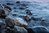 Silence (Tim Allendörfer) Tags: silence sea stone stones water evening night light blue ocean flow flowing color moving wave waves nature landscape