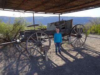 Castolon, Cerro Castellan, Santa Elena Canyon, Big Bend NP