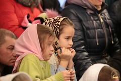 59. Sketch of Bogorodichnoe Village at the Assembly Hall / Сценка с.Богородичное в актовом зале 08.01.2017