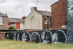 Beatles on between Croxteth and Eaton Avenues (hilofoz) Tags: bootle merseyside england uk