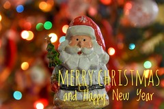 Merry Christmas and  Happy New Year ...  My Friends (Alex Nebot) Tags: navidad nadal christmas natale santa claus tree luces bokeh decoracion navideño nikon d7200 sigma 1750 detalles details detalls nadalecs navideños papanoel noel
