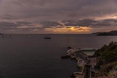 Sunset Over Tinside (trevorhicks) Tags: plymouth tinside pool sound harbour devon canon 6d tamron bay breakwater sunset