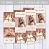 Layered Photoshop Template (daphnepopuliers) Tags: psd photoshop adobe template layered photocard photostudio photographer photography marketing business