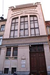 Nijverheidsschool, Schaarbeek (Erf-goed.be) Tags: nijverheidsschool school schaarbeek brussel archeonet geotagged geo:lon=43752 geo:lat=508625 henrijacobs
