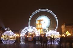 Jarmark świąteczny (magro_kr) Tags: gdańsk gdansk danzig polska poland pomorze pomorskie noc światło swiatlo night light longexposure