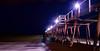 Night Jetty (rhiannonjones1992) Tags: beach jetty night longexposer blue ocean