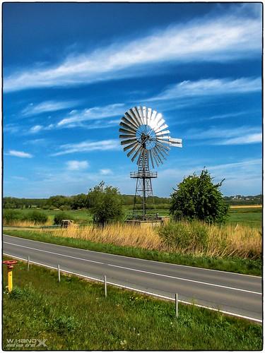 Windschöpfrad Lobbe (Rügen)