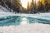 Frozen River (kubaszymik) Tags: cold ice river snow white winter frozen freeze blue aqua water poland beskidy żywiec canon morning dawn sunrise january 2017 colors forest trees waterfall