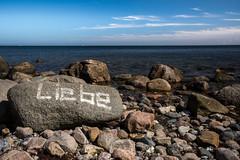Liebe (ulschn) Tags: boltenhagen ostsee baltic sea liebe love stone stonelove stein graffity