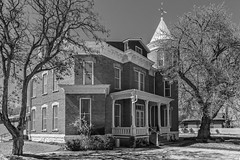 The Old Mansion_BW (Kool Cats Photography over 8 Million Views) Tags: house mansion historic blackandwhite monochrome newmexico architecture building socorro