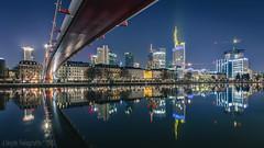 IMG_0653-HDR-20170121 Canon EOS 5D Mark II Frankfurt am Main (fotoman-jens) Tags: 2017 frankfurt langzeitbelichtung nachtaufnahme skyline frankfurtammain hessen deutschland germany longtime dri hdr flickr blaue stunde blauestunde canon canon5dmii 1635 city