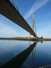 Puente sobre el Guadiana (Lou Rouge) Tags: guadiana velero ayamonte rio river bridge puente architecture arquitectura andalucía portugal spain frontera border espejo algarve