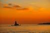 Fiery Bosphorus sky (erdal.aktaran) Tags: maidentower kizkulesi istanbul bosphorus marmara turkey sunset